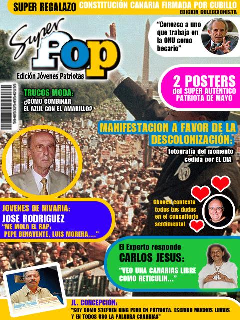 Super Pop, la revista para todos los pepitos, de 7 a 77 (y más) años…